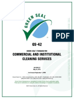 GS-42 Ed2-2 Commercial and Institutional Cleaning Services