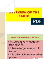 Overview of the Earth