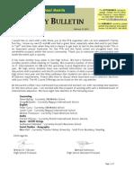 HS Friday Bulletin 02.12.10