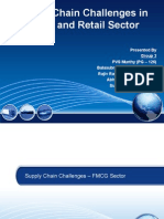 Supply Chain Challenges in FMCG and Retail Sector