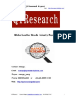 Global Leather Goods Industry Report 2015
