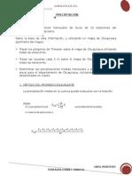 Cálculo de la Precipitación Media mediante los métodos de Polígonos de Thiessen e Isoyetas