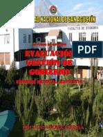 Evaluación de la gestión de gobierno Arequipa