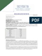 Datos Tecnicos_Cal Hidratada de Alto Calcio