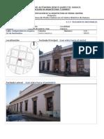 Alteraciones de la cantera, Edificio S.C.T Oaxaca