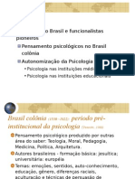Funcionalismo no Brasil