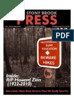 The Stony Brook Press - Volume 31, Issue 8