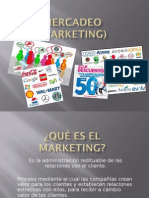Mercadeo (Marketing)