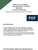 Hepatitis B Virus-related Decompensated Liver Cirrhosis