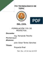 Proyecto de Inversión FEP
