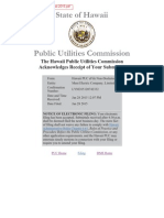 Feb 2015 Energy Cost Adjustment - Maui Electric Co Ltd (Maui)