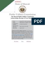 March 2015 Energy Cost Adjustment - Maui Electric Co Ltd (Maui)