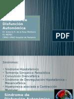 Síndrome de Disfunción Autonómica