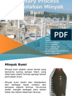 Primary Process of Petroleum Refinering