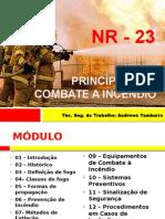 Princípios de Combate a Incendios