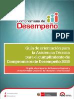 Guia Compromisos de Desempeno 2015 Web