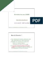 Introduction Aux SGBD