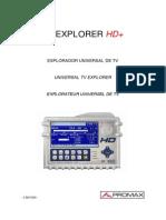 Tv Explorer Hdp