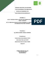 Informe No. 3 caracterización de materiales