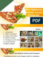 The National School Lunch Program