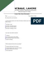 Basic Electronics (Paper)