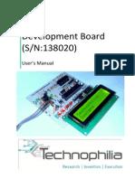 User Manual_SN-138020_Atmega-8 Mother Board