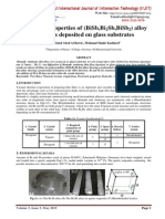 Structural properties of (BiSb,Bi2Sb,BiSb2) alloy thin films deposited on glass substrates