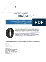 Planning to visit DIA 2015?