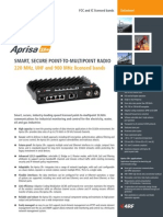 Aprisa SR+ Datasheet FCC IC English
