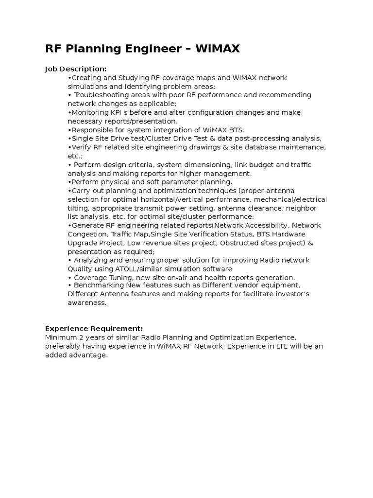 rf engineer job description free resume builder app 1507133284 rf engineer job descriptionhtml - Rf Engineer Job Description