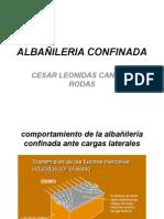 COMPORTAMIENTO ESTRUCTURAL ALBAÑILERIA