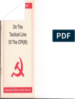 On the Tactical Line of the CPI(M) PES 4 -1996