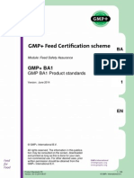 GMP+ BA1 Product Standards