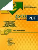 Secretarias I