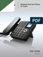 Belkin Desktop Internet Phone_skype User Guide Pm00284ea_f1pp010en-Sk_uk
