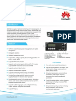 HUAWEI SMU02B Monitoring Unit Data Sheet