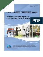18-PS-2015 Bantuan Unit Sekolah Baru SMK Usb