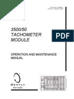 Bn 3500-50 Maintenance Manual