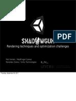 Unite 2011 Shadowgun Optimisation