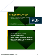 CSA NOTES - Green Building Index - Residential