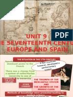 unit 9, the 17th century
