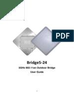 Bridge5-24 User Manual