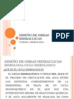 Diseño de Obras Hidraulicas_Unidad 1_Hidrologia