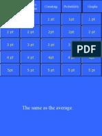 Probability Statistics