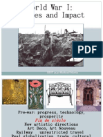 WWI Causes and Impact