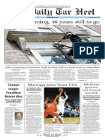 The Daily Tar Heel for June 4, 2015