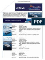 Offers on One Way Cruise Sailings This 2015 Summer