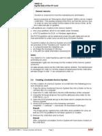 Software Upgrade or Degrade Procedure