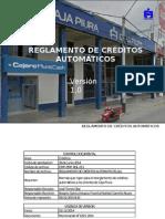 REGLAMENTO DE CREDITOS AUTOMATICOS. [Reparado].pptx
