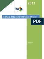 Manual de Usuario Mobiliza Ventas Android